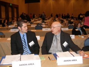 Ralph J. Davila, Tom Duke, APR, Fellow PRSA at Assembly
